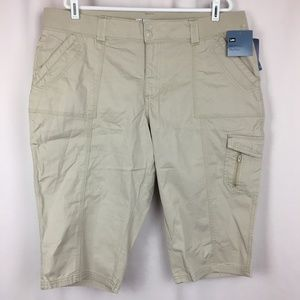 c99bde45 NWT LEE Capris Cropped Pants Women's 18W Easy Fit